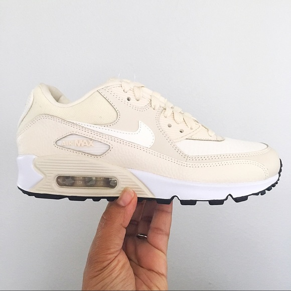 finest selection c0c81 9a1ae Nike Shoes | Air Max 90 Light Cream Women Size 7 | Poshmark